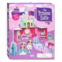 Princess Castle 3D puzzle mainan edukasi anak puzzle diorama istana