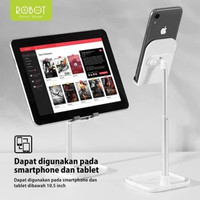 Robot RT-US04 Table Phone Holder Stand Aluminium Alloy Universal