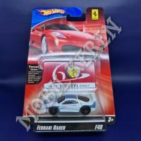 Hot Wheels 60th Anniversary Ferrari Racer Ferrari F40 White