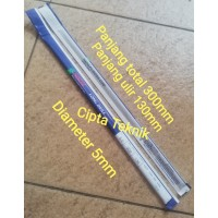 Mata Bor Nachi 5mm x 300mm panjang - Long Drill Nachi 5.0mm x 300mm