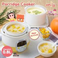Emily Porridge Slow Cooker 0.8L Baby Food Maker Pengolah Makanan Bayi