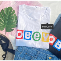 Kaos OBEY KPOP BTS Dynamite Korea T-Shirt Korea