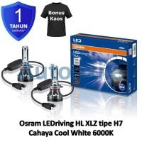 Osram LED riving XLZ New Gen H7 Cool White 6000K B5210CW Lampu Mobil