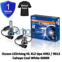 Osram LED riving XLZ New Gen HIR2 9012 White 6000K B9012CW Lampu Mobil