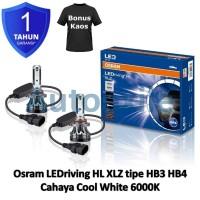 Osram LED riving XLZ New Gen HB3 HB4 White 6000K B9005/6CW Lampu Mobil
