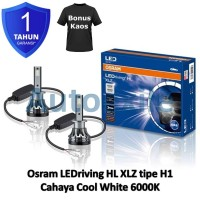 Osram LED riving XLZ New Gen H1 Cool White 6000K B6150CW Lampu Mobil