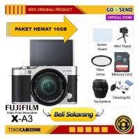 Kamera Fujifilm X-A3 Kit 16-50mm / Fuji XA3 - PAKET LENGKAP 16GB