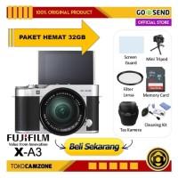 Kamera Fujifilm X-A3 Kit 16-50mm / Fuji XA3 - PAKET LENGKAP 32GB