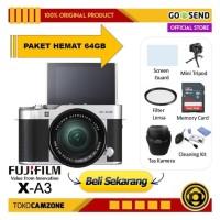 Kamera Fujifilm X-A3 Kit 16-50mm / Fuji XA3 - PAKET LENGKAP 64GB