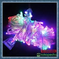 Lampu Led Tumbler Rainbow 10 Meter / Lampu Natal Hias ada sambungan