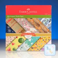 Washi Paper Faber Castell Kertas Lipat Origami 16x16 dan 15x15 Motif - Season