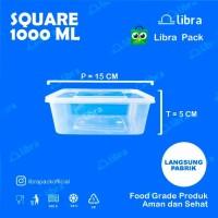 300 Pcs - Thinwall 1000 ml dus food container tempat kotak makan murah