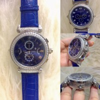 Jam Tangan Patek Philippe Grand Complication 6300G Silver Dial Blue