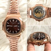 Jam Tangan Patek Philippe Nautilus PP5711 Rose Gold Brown Dial