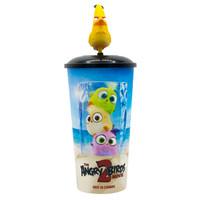 Cinepolis Tumbler CHUCK Yellow Angry Birds Movie Merchandise 22oz