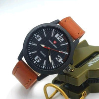 Jam tangan pria swisarmy analog free box