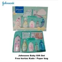JOHNSON BABY GIFT BOX SET - PAKET SABUN SHAMPOO BEDAK BAYI - KADO BAYI