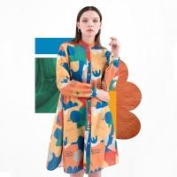 Nadjani X The Babybirds - Dress Greisy - Orange