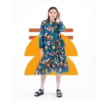 Nadjani X The Babybirds - Dress Chalis - Navy