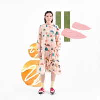 Nadjani X The Babybirds - Dress Chalis - Pink