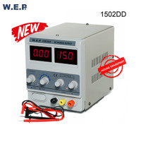 WEP 1502DD DC Power Supply Hp Ponsel 0-15V 0-2A/0-500mA Original