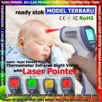 Thermometer Infrared Gun Termometer Tembak Thermo Termo Non Contact