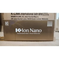 KACAMATA K-ION NANO - REGULER SMALL BLACK | K LINK | ANTI RADIASI