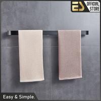 ES Rak Kamar Mandi Rak Handuk Rak Penyimpanan Rak Dinding Aluminium