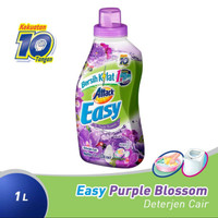 Attack easy detergen cair purple blossom 1 liter