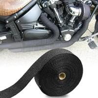Exhaust Wrap Pelindung Knalpot Wrapping Peredam Panas Motor - 1 METER