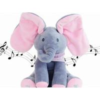 READY Sing & Peek a Boo Elephant Doll Boneka Gajah Cilukba