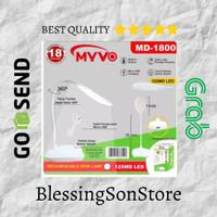 Lampu Meja Belajar / Fleksible Mini Portable Rechargeable Myvo