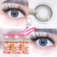 MINI OLIVIA 14.2MM + FREE PINSET SOFTLENS KITTY KAWAII