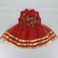 Dress Pesta Anak Umur 1 - 2 Tahun Dress Ulang Tahun Bagus Dan Murah B