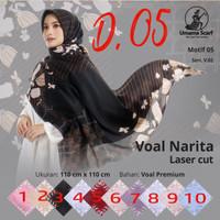 Hijab Kerudung Jilbab Segiempat Motif Corak Osaka By Umama