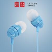 MINISO Earphone In-Ear Masuk Telinga Earbud Stero Jernih Headphone