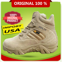 Grosir Sepatu Delta 6 inci Tactical Army Boots + 100 % Asli Ori - Gurun