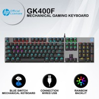 Keyboard Gaming HP GK400F - RGB Blue Switch Mechanical Keyboard