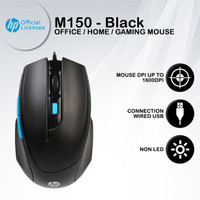 Mouse Gaming HP M150 - 1600DPI USB Wired Macro Programmable