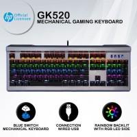 Keyboard Gaming HP GK520 - Side LED RGB Mechanical Keyboard