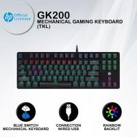 Keyboard Gaming HP GK200 - RGB Blue Switch TKL Mechanical Keyboard