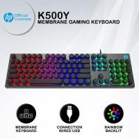 Keyboard Gaming HP K500Y - RGB Membrane (Rubber Dump) Keyboard