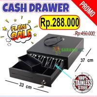 Eppos Cash Drawer 37 X 33 Cm 4K3C RJ11 Laci Uang Laci Kasir