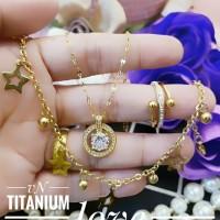 titanium set perhiasan c303