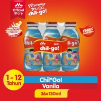 Chil Go Vanilla 6x140ml