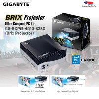 GIGABYTE MINI PC BRIX GB-BXPi3-4010-S28G ( BRIX PROJECTOR )