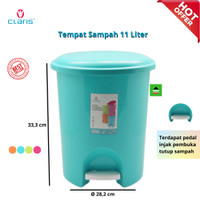 Tempat Sampah Injak Claris Vineeta 1166 Step On Dustbin 11 liter