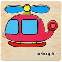 Mainan Edukasi / Puzzle Anak / Puzzle Kayu Anak Timbul