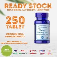 Puritan's Pride Folate 1333mcg DFE (Folic Acid 800mcg) - 250 tablet