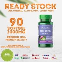 Puritan's Pride Milk Thistle EXTRACT 1000mg 90 softgel